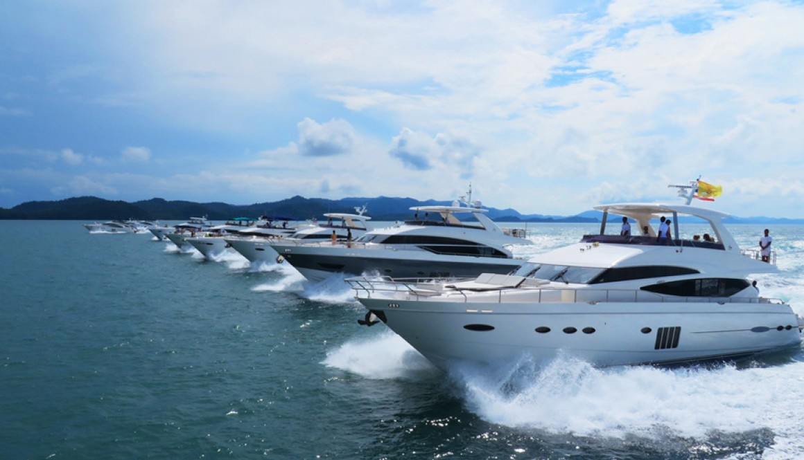 Princess Yachts Cruise in Phuket 2014