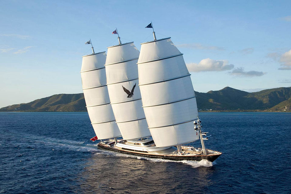 Maltese Falcon super yacht