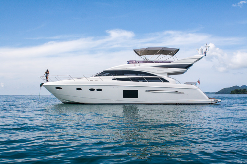 Click to see this luxury 64ft motor yacht available for charter