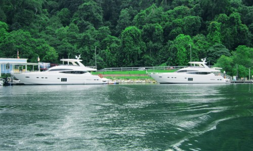 Princess 78 delivery to Thailand is done successfully