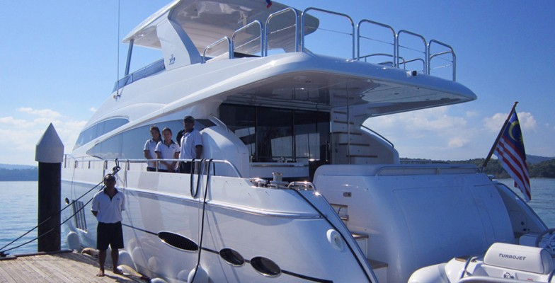 Gallery: Training and pleasure mix on board of Princess 78 MY