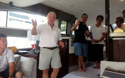 Successful yacht training of Princess South China team